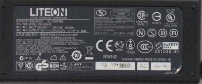二手NB PA-1650-02  AC:100-240V ~1.5A DC:19V/ 3.42A(FOR acer) 台中市