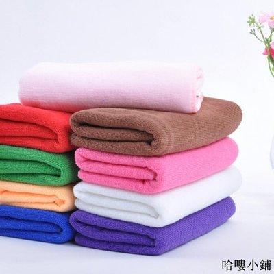 收納 特價小物 簡約吸水毛巾美容美發洗車毛巾干發巾纖維毛巾彩色抹布批發單筆訂購滿200出貨唷
