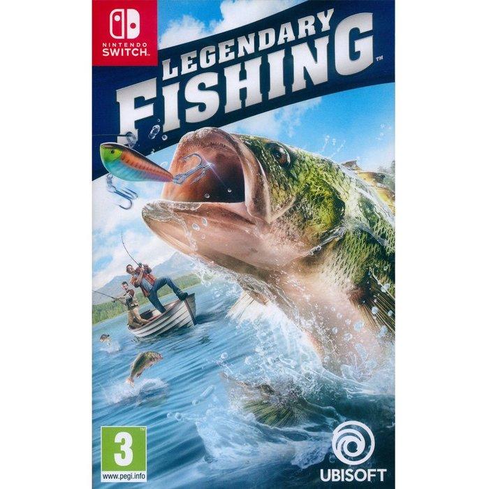 (現貨全新) NS SWITCH 傳奇小釣手 (傳奇釣魚) 中英日文歐版 Legendary Fishing