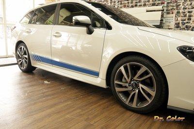 Dr. Color 玩色專業汽車包膜 Subaru Levorg 車身線條客製化 (3M 1080)