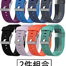 【現貨】ANCASE 2件組合 Fitbit Charge HR 錶帶腕帶軟膠 替換手錶手環錶帶