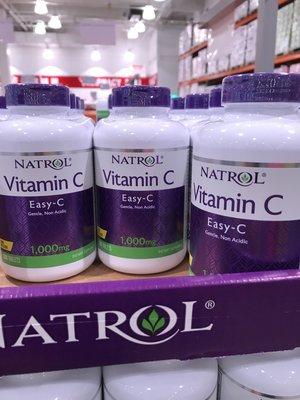 (570元)COSTCO好市多代購NATROL納妥維他命C1000毫克緩釋錠(每瓶200粒)010