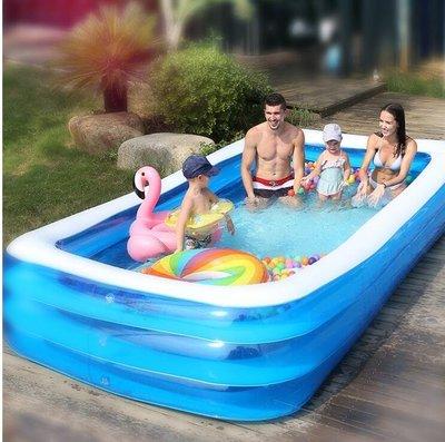 全館免運-充氣游泳池兒童超大型加厚洗澡...