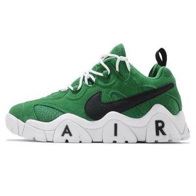 SHOEBOX Nike Air Barrage Low 綠 黑 白 男鞋 低筒 復古 籃球鞋 CT2290-300零碼