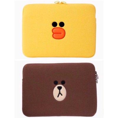 正版istyle熊大莎莉筆電包13吋apple筆電電腦Sony可愛風靡韓國line friends 15吋 送禮禮物禮品