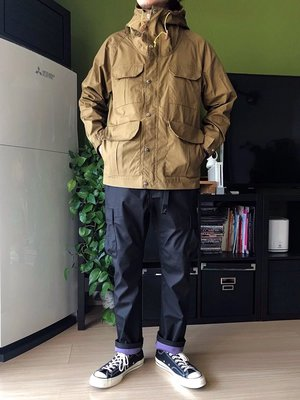 ☆COOKIE@日系-GRAMICCI 聯名☆2019-郊遊必備-防風/防水/透氣多口袋休閒褲-正品-軍綠/黑