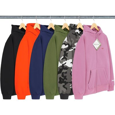 【美國鞋校】預購 SUPREME FW20 WINDSTOPPER Zip Up Hooded Sweatshirt