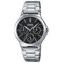 附台灣卡西歐保卡才是公司貨【時間光廊】CASIO 卡西歐 三眼錶 30mm 指針錶 LTP-V300D-1A 女錶