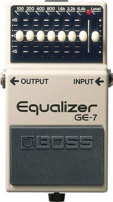 ☆ 唐尼樂器︵☆ BOSS GE-7 ...