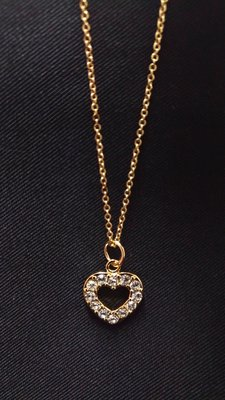 EQUIP Necklace 精美項鍊 澳洲平價品牌 金色愛心 特價出清 小資女必備