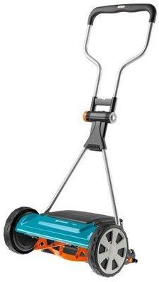 *艸衫故居*  Gardena 舒適款 刃寬40 cm 手推滾輪式 剪草機 剪草器  中大型草坪 庭園適用-4022