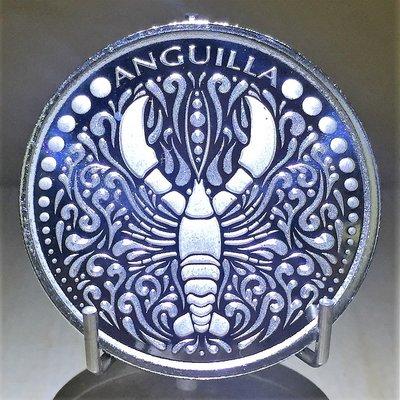 2018 Anguilla Lobster 安圭拉龍蝦銀幣 (1 toz)