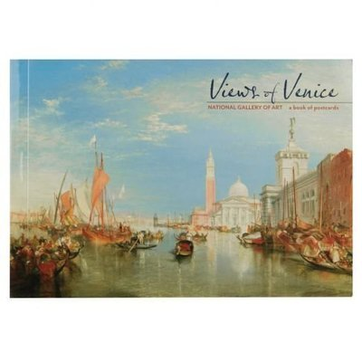 美國帶回DC特區國家藝廊National Gallery of Art明信片view of Venice