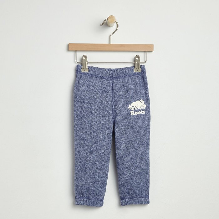 ~☆.•°莎莎~*~☆~~加拿大ROOTS Baby Original Original Sweatpant 寶寶棉褲