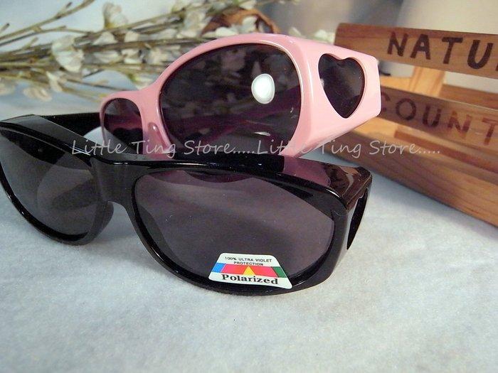MIT台灣製造Polarized寶麗來偏光兒童太陽眼鏡包覆式近視套鏡近視眼鏡可UV400抗紫外線防眩光眼鏡族必備