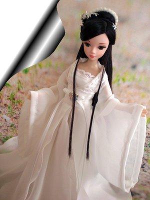 愛卡的玩具屋 可兒娃娃/芭比娃娃/古裝娃娃——古裝obitsu27中胸/可兒娃娃可穿衣服 夢顏