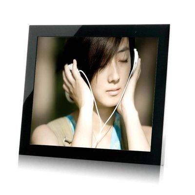 19吋高清數位相框電子相冊電子相框12801024 鋼化玻璃面板禮品首選