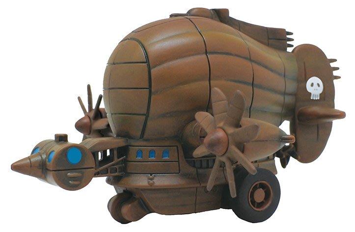 【日販】Ensky 宮崎駿 吉卜力 迴力車~天空之城 PBC-07 飛行船~日版!現貨