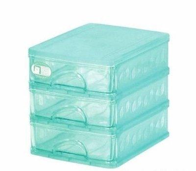 佳斯捷 86993 彩色精靈三層收藏盒 整理盒 置物盒