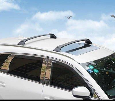 ㊣TIN汽車配件㊣2020歐規一體服貼式縱桿馬自達CX-5 橫桿 行李架 CX-9車頂架 改裝一體成型 CX5行李架原裝款鋁合金鎖螺絲橫桿,專用橫桿 CX3,