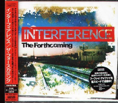 K - Interference - The Forthcoming - 日版 +2BONUS - NEW