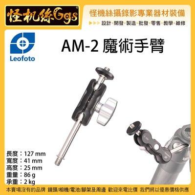 怪機絲 Leofoto 徠圖 AM2 魔術手臂 怪手 延伸 連接 相機 手機 麥克風 持續燈 腳架 支架 1/4牙