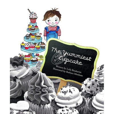 英文 德國插畫師Barbara Moxham 好味的紙杯蛋糕 生日故事 The Yummiest Cupcake 3-6
