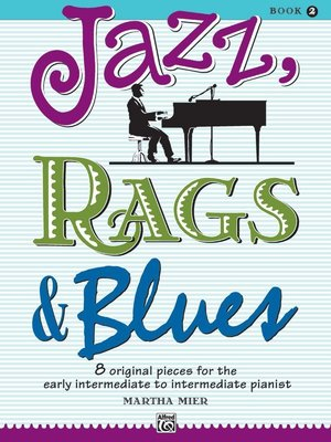 【599免運費】Jazz, Rags & Blues, Book 2  Alfred 00-6643