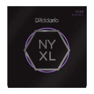 【又昇樂器 . 音響】D'Addario NYXL 1149 Nickel Wound 電吉他弦