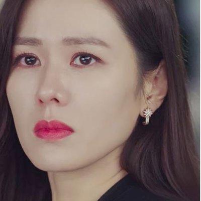 *Miss Ha Ha*F029韓.愛的迫降孫藝珍同款 碎鑽雪花夾式耳環.現貨200310