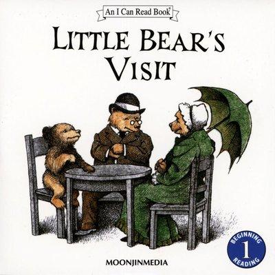 *小貝比的家*ICR: LITTLE BEAR'S VISIT L1 /單CD [汪培珽英文書單]/3~6歲/第二階