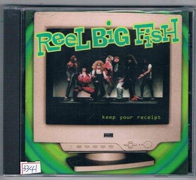 [鑫隆音樂]西洋CD-大條魚Reel Big Fish:收據留著-原裝進口盤[601215307825]全新