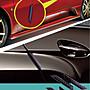 YP逸品小舖 碳纖紋超跑防碰片4入裝 汽車防撞...