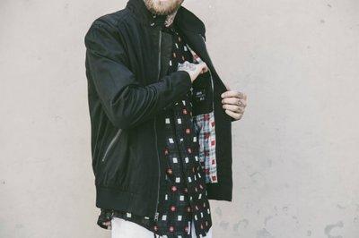 ☆AirRoom☆【現貨】 Publish Stinson 拚接 格紋 短袖 襯衫 綠S 黑S 特價