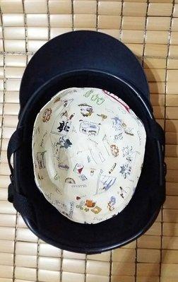 J工坊 大童 兒童安全帽內襯套單層 可拆洗 安全帽套 安全帽內襯墊 頭盔 安全帽內襯 MIT