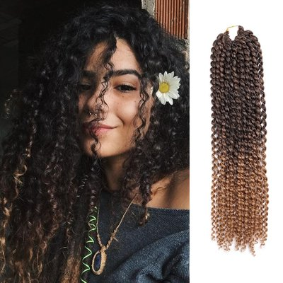 cosplay專賣~Passion twist crochet braid hair curly extensions長卷髮臟辮