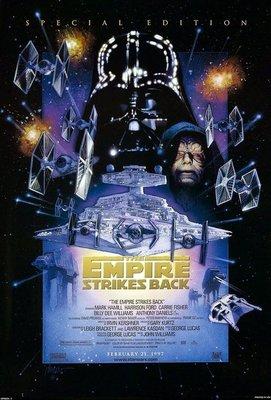 星際大戰五部曲:帝國大反擊特別版(1980)2001重映版電影海報