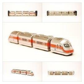 【喵喵模型坊】TOUCH RAIL 鐵支路 Q版  E1000 PP自強號列車組 (QV001T1)
