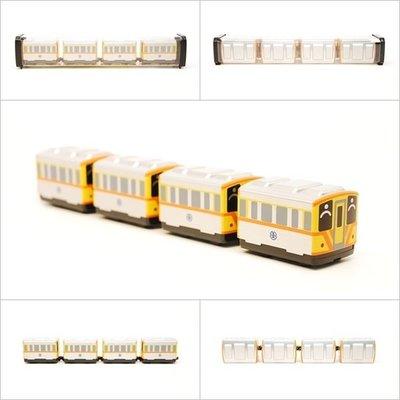 【喵喵模型坊】TOUCH RAIL 鐵支路 Q版台鐵DR1000小列車 (QV048T1)