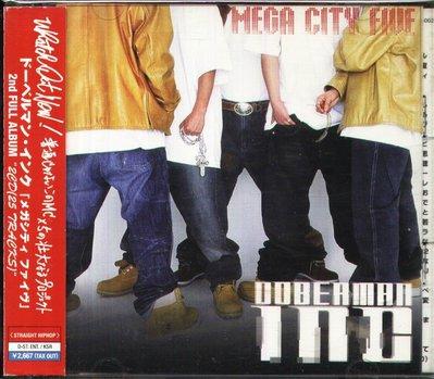 K - DOBERMAN INC - MEGA CITY FIVE - 日版 2 CD