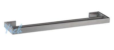 『MUFFEN沐雰衛』YR-502 75cm 簡約設計 毛絲髮絲霧面 304不鏽鋼 不銹鋼 雙桿毛巾架