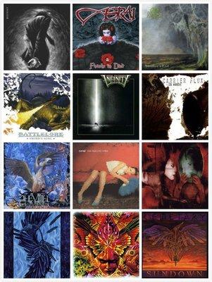 【搖滾帝國】末日,哥德金屬Doom,Gothic專輯大全