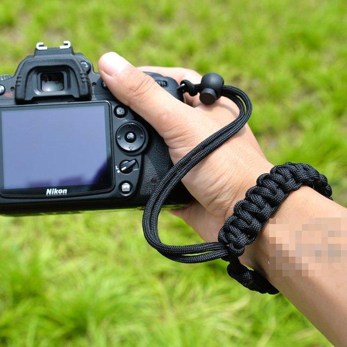 相機手腕帶 手工編織 單反相機微單掛繩 鑰匙水壺相機手繩(手腕帶+指南盤)_☆找好物FINDGOODS ☆