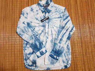 (抓抓二手服飾)  BLUE ART DRIVE  長袖趁衫  全新  L   (*09)