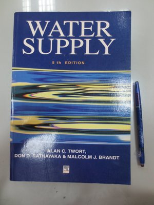 6980銤:D6-4cd☆2000年出版『Water Supply 5/e』TWORT《ARNOLD》