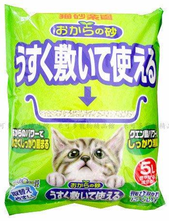 ☆米可多寵物精品☆日本製日本大塚豆腐砂安德生豆腐貓砂抗菌環保砂5L用量超省