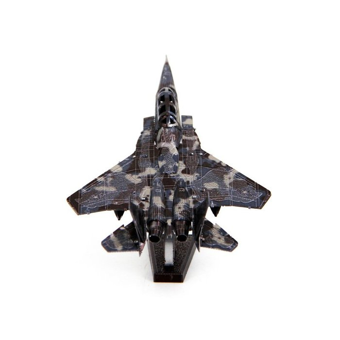 F15戰鬥機愛拼 全金屬3D立體DIY拼圖拼裝模型  彩色版