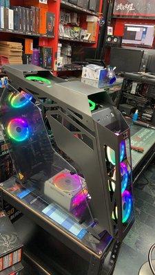 『高雄程傑電腦』富鈞 XIGMATEK ZEUS 宙斯 A.RGB風扇/USB3/支援32cm顯卡/雙側玻璃【現貨展示】