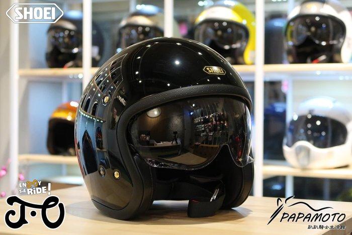 SHOEI JO 安全帽 黑色 (CB1100 GOGORO R9T VESPA)