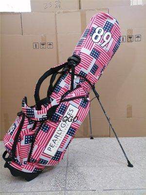 高爾夫球桿新款高爾夫支架包PG男女同款高爾夫腳架包兔子國旗 雙肩背帶球桿